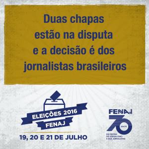 Post eleição FENAJ